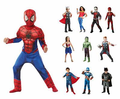 Superhelden Kostüm Kinder Avengers Batman Superman Fasching Karneval Cosplay