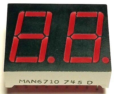 20pcs 2 Digits 7 Segment 0.56 14mm Red Led Display Digit