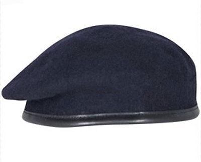 5334e9740cac1 Alta Calidad Azul Marino Ejército Británico Boina ( Rlc