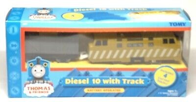 "TOMY Trackmaster Thomas & Friends ""DIESEL 10"" 2000 WORKING Motorized Train INB"