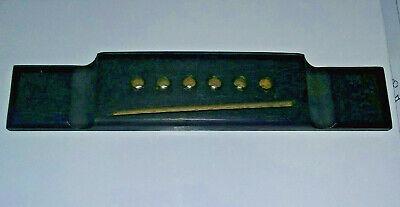 Used Washburn Rosewood Acoustic Guitar Bridge Rectangle Style