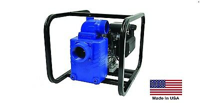 Water Pump Commercial - Portable - 3 Ports - 8 Hp Vanguard 21360 Gph - 48 Psi