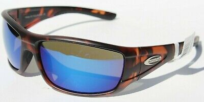 SUNCLOUD Tribute POLARIZED Sunglasses Matte Tortoise/Blue Mirror NEW Smith (Sunclouds Sunglasses)