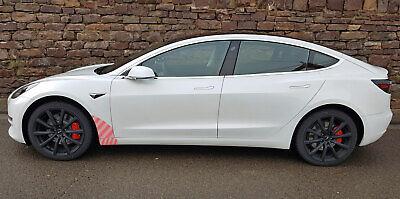 Tesla Model 3 Transparente Schutzfolie vorderer Seitenschweller