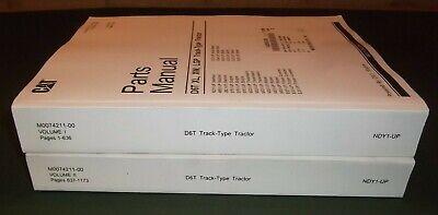 Cat Caterpillar D6t Crawler Tractor Dozer Parts Manual Book Sn Ndy00001-up