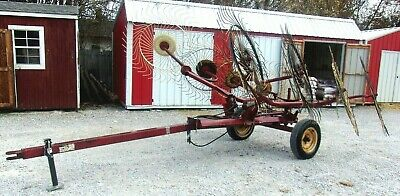 Used Mw V8 Hay Rake-free 1000 Mile Free Delivery From Kentucky
