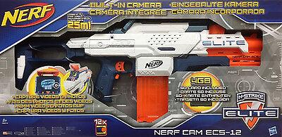 Hasbro Nerf N-Strike Elite Cam ECS-12 Blaster mit eingebauter Kamera