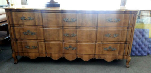 French Provincial Dresser Dovetail Drawers by J.L. METZ