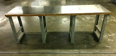 Industrial Heavy Duty Stainless Steel Top Work Table 96l X 31w X 34 12h