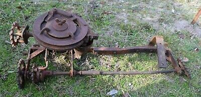 Allis Chalmers G Tractor Planter Mechanism
