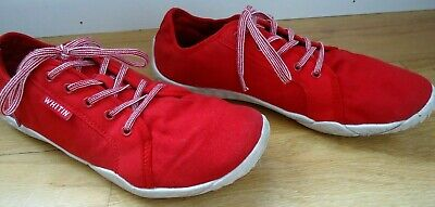 Whitin Men's Size 43 US 10 Red Shoes Minimalist Barefoot Casual Athletic