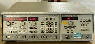 83522a - 8350a 0.01-2.4ghz Sweep Signal Generator Hp
