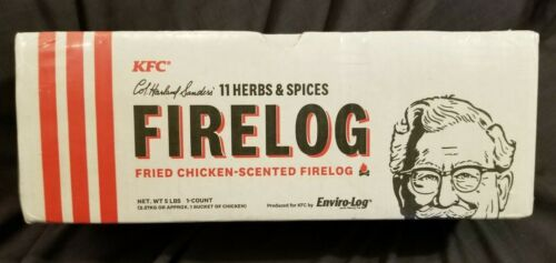 KFC Col Sanders 11 Herbs & Spices Firelog Limited-Edition
