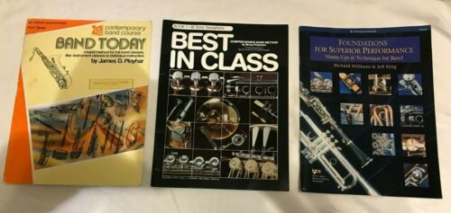 Tenor Saxophone Sheet Music books - Lot of 3 - Intermediate Level