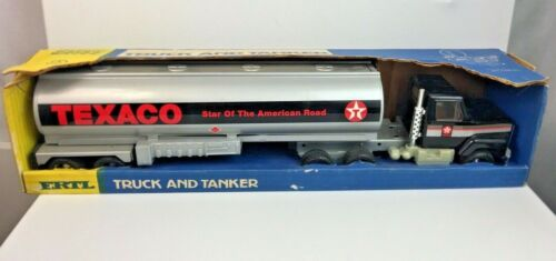 "New in Box : ERTL - TEXACO TRUCK AND TANKER #3123 - 19"""