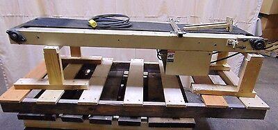 Industrial Incline Belt Conveyor 120 Volt