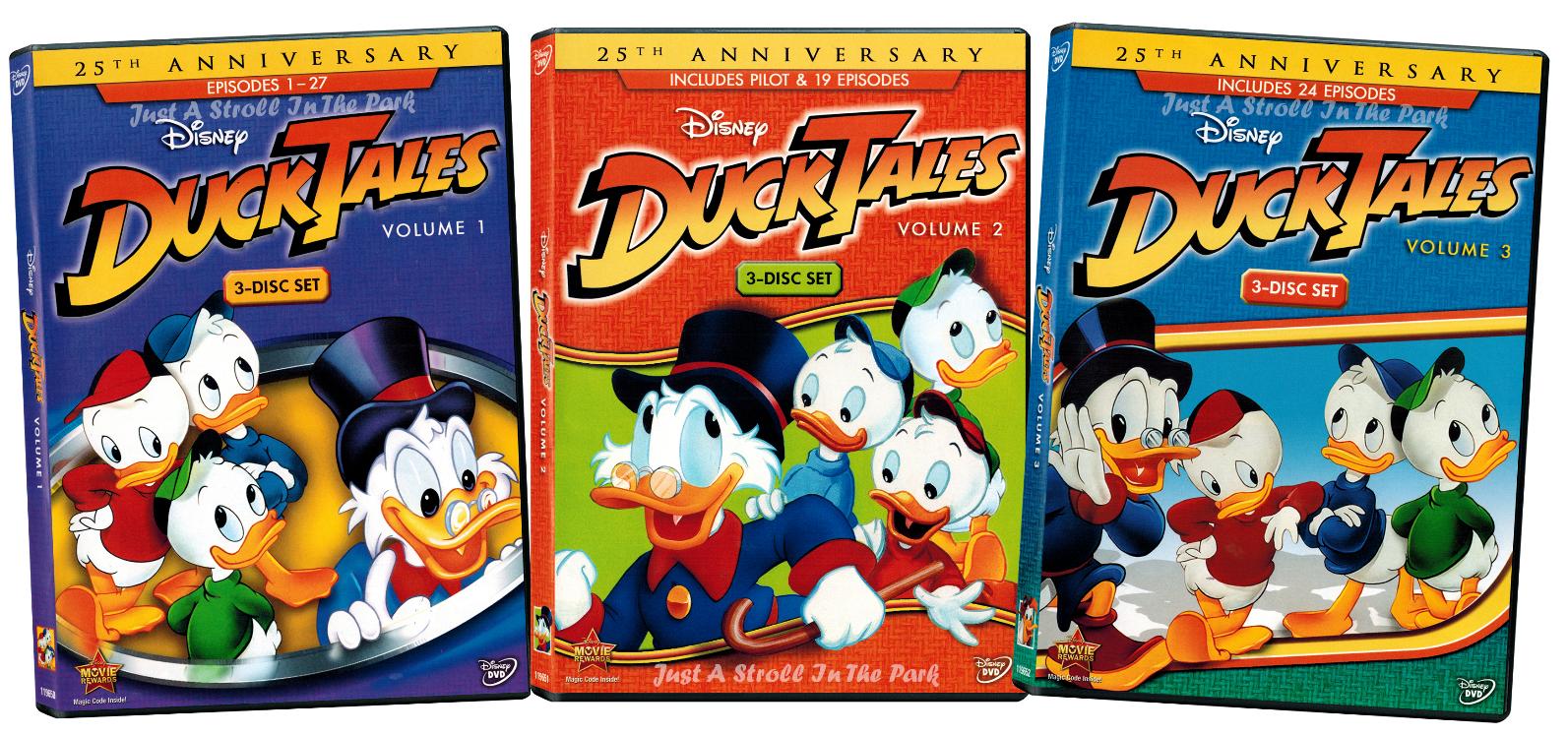 DuckTales: Classic Disney TV Series Complete Volumes 1 2 3 Box / DVD Set(s) NEW!