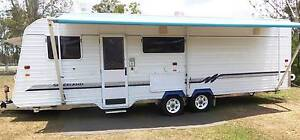 ROOMY 25ft SITE VAN PERFECT FOR LONG TERM LIVING !! Southside Gympie Area Preview