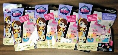 5 Littlest Pet Shop Bags & Shoes Blind Bag Mini Pets Series 4 Lot Hasbro (Littlest Pet Shop Blind Bags Series 4)