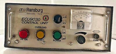 1 Used Itw Ransburg Ecu5000-08 Paint Gun Control Unit Make Offer