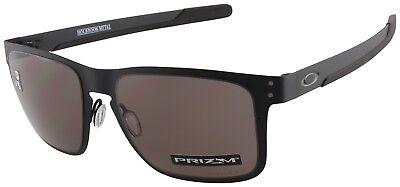 Oakley Holbrook Metal Sunglasses OO4123-1155 Matte Black | Prizm Grey Lens |BNIB