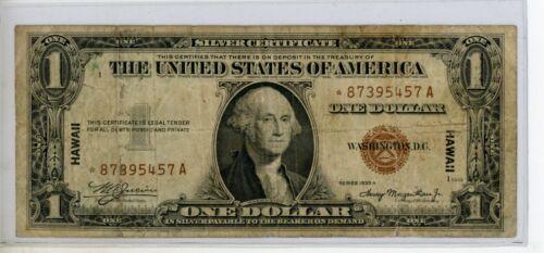 1935A *STAR* Fr# 2300* $1 WWII HAWAII Emergency Issue # 5457