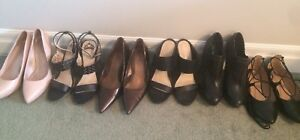 Ladies heels and shoes