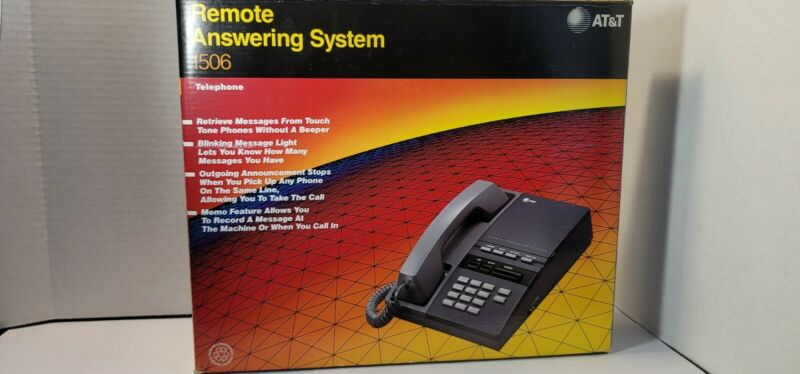 Vintage AT&T Remote Answering System 1506 Telephone