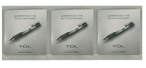 3 Pack TUL handcrafted pens 1 ballpoint
