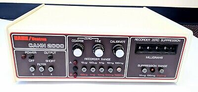 Cahnventron Cahn 2000 Electrobalance Vintage Powers On