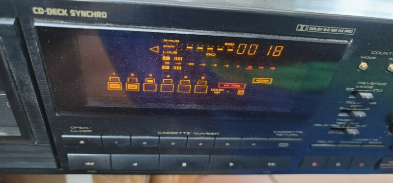 Pioneer CT-M6R 6 Multi-Cassette Changer with Remote Control Works