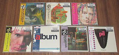 PUBLIC IMAGE LIMITED Japan PROMO mini LP CD x 7 SET card sleeve SEX PISTOLS PIL