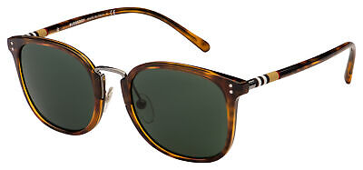 Burberry Sunglasses BE 4266 37165U 53 Havana | Green (Burberry Men Sunglasses)