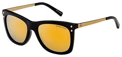 Michael Kors Lex Sunglasses MK 2046 31607P 54 Black / Gold   Gold Mirror (Lex Sunglasses)