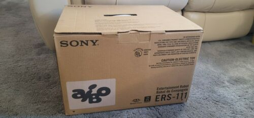SONY Aibo ERS-111 Entertainment Robot Companion w/ original box & accessories!