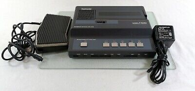 Olympus Pearlcorder T1010 Microcassette Transcriber Foot Pedal