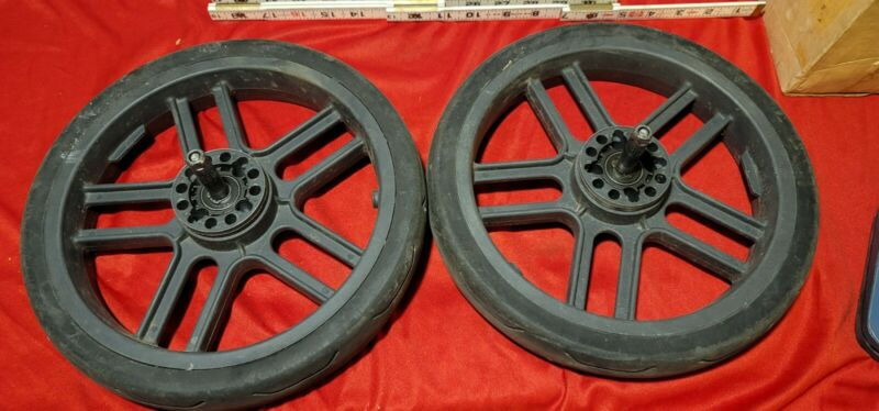 Uppababy Vista Baby Stroller BACK Wheels Replacement Pre 2014 and Earlier Models