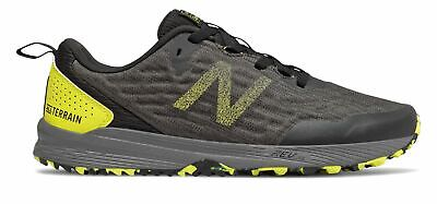 New Balance Men's NITREL v3 Trail Shoes Black with Yellow
