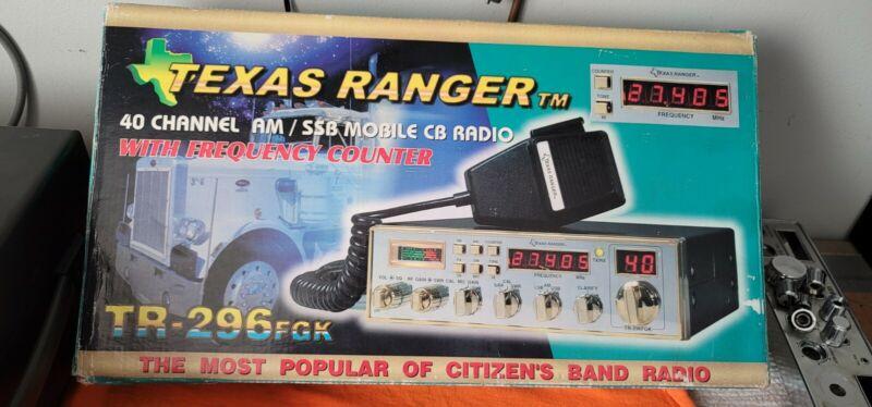 VINTAGE CB RADIO TEXAS RANGER 296FGK LOOK