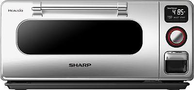 Sharp Stainless Steel Grill - Sharp - SuperSteam Steam Oven - Stainless Steel