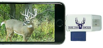 Trail Cam Tracker Trail Camera SD Card Reader for iPhone & Android - The Best