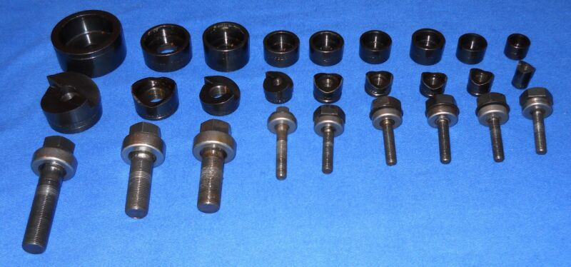 """GREENLEE Ball Bearing Knockout Punch units  5/8"""" to 2-1/8"""""""