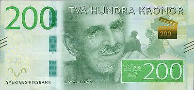 Schweden / Sweden 200 Kronen (2015) (1)
