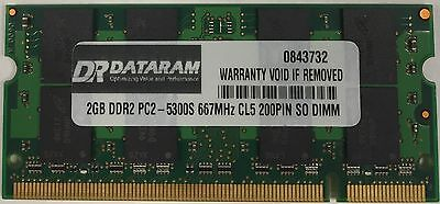 2GB DDR2 MEMORY FOR  Dell Inspiron E1505 Dell Ddr2 Memory