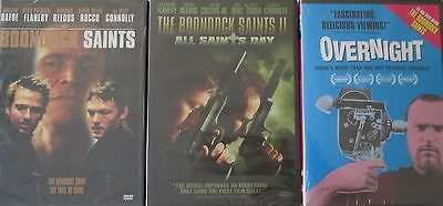BOONDOCK SAINTS 1-2-3: Original+All Saints Day+Overnight/Troy Duffy- NEW 3 DVD