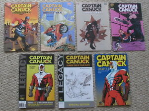 CAPTAIN-CANUCK-2004-2007-Unholy-War-1-4-amp-Legacy-2006-2011-1a-1b-1-5-VF-NM