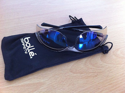 Bolle Contour ESP Safety Glasses Cycling UV Protection Sunglasses + FREE CASE