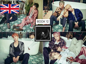 BTS 2nd WINGS Album [G Version] Vol 2 BANGTAN BOYS CD+Photobook+Photocard+Gift