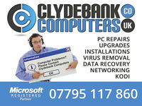 CLYDEBANK COMPUTERS - PC / COMPUTER REPAIRS - 07795 117860