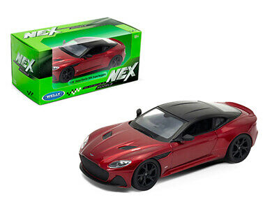 WELLY 1/24 SCALE RED ASTON MARTIN DBS SUPERLEGGERA DIECAST CAR MODEL 24095RED